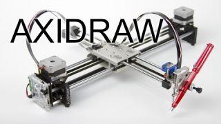 Робот AxiDraw от компании Evil Mad Scientist